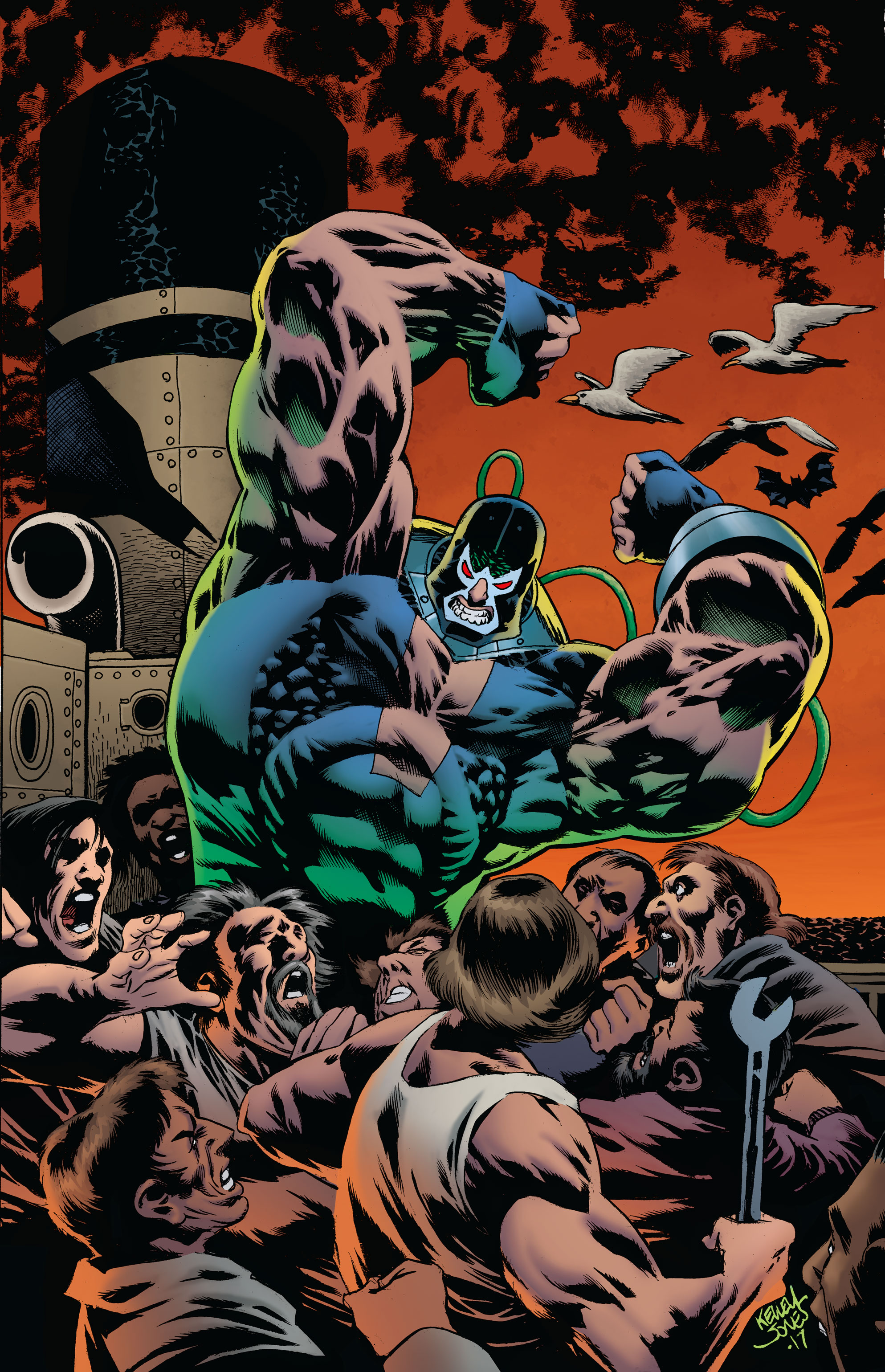 DC Preview: Bane: Conquest #1 [Lettered]