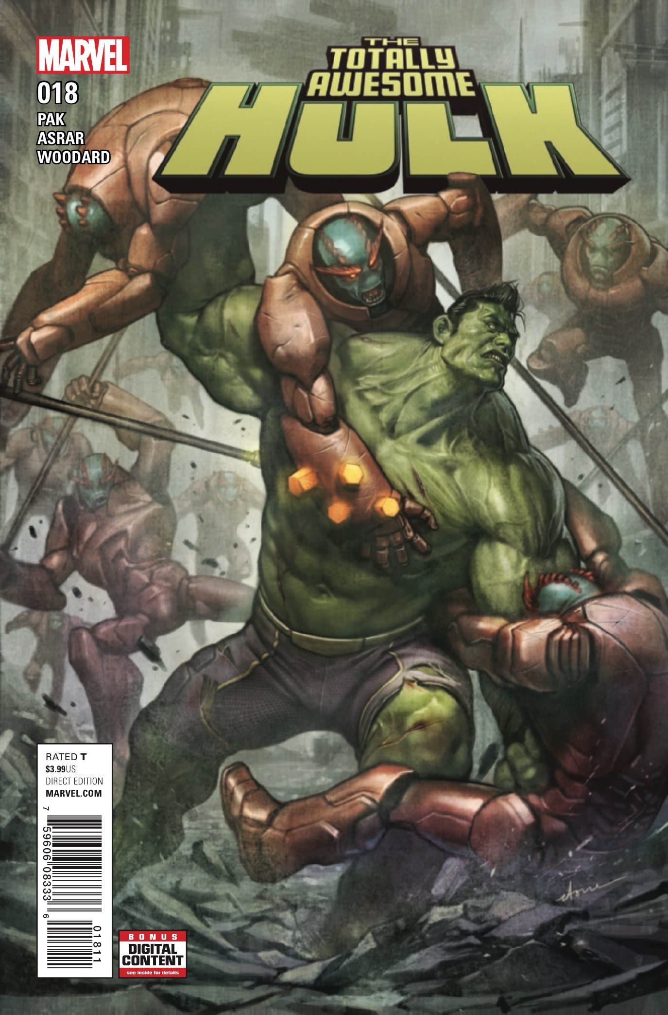 Marvel Preview: Totally Awesome Hulk #18
