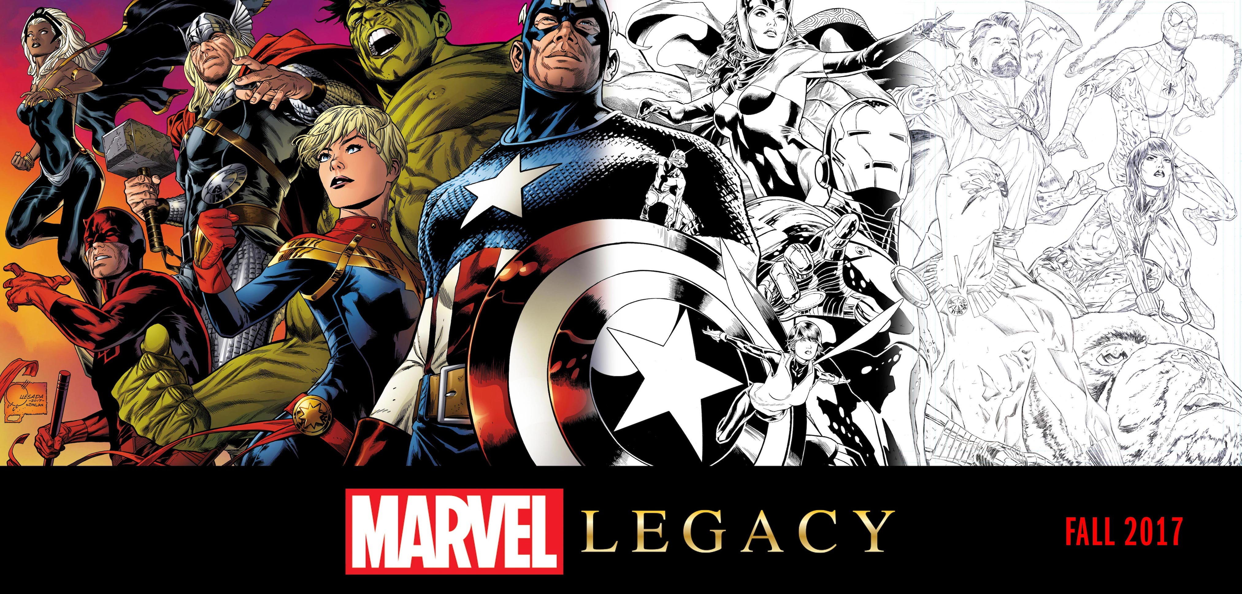 Marvel's Next Big Thing: Marvel Legacy Starts Fall 2017!