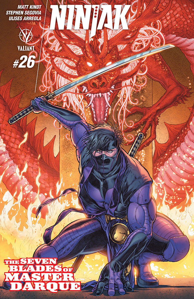 Ninjak has put himself into a fine mess and it's all for a girl. Isn't it always? He's got his back to the wall as his entire team of villains have been swept off the board. Sounds like an exciting conflict, but is it good?