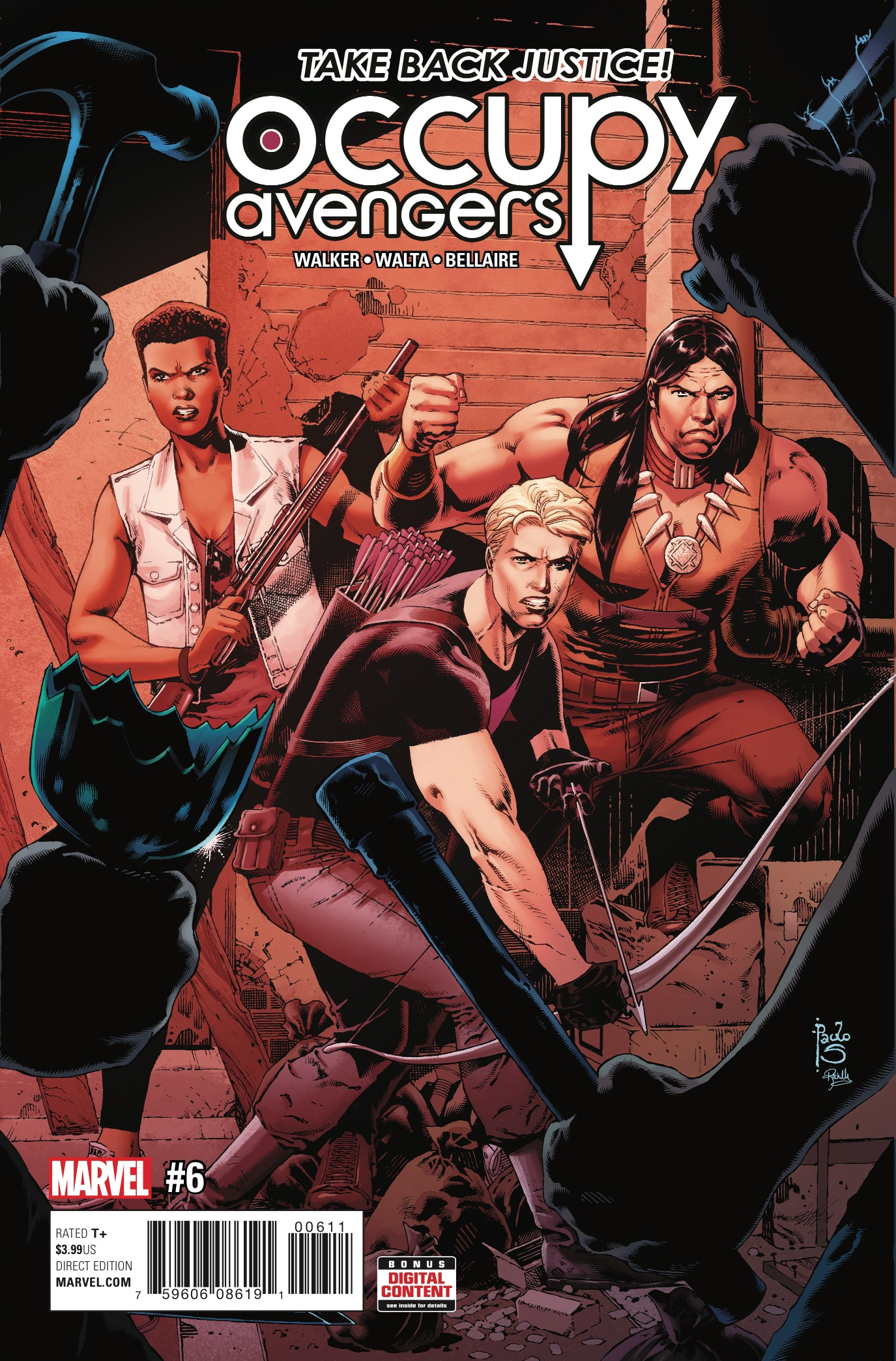 Marvel Preview: Occupy Avengers #6