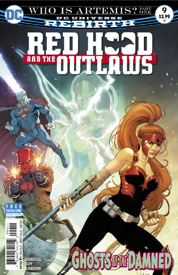 Red Hood and the Outlaws #9 Review
