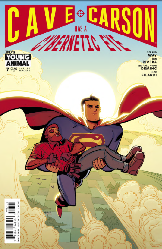 Cave Carson Has a Cybernetic Eye #7 Review