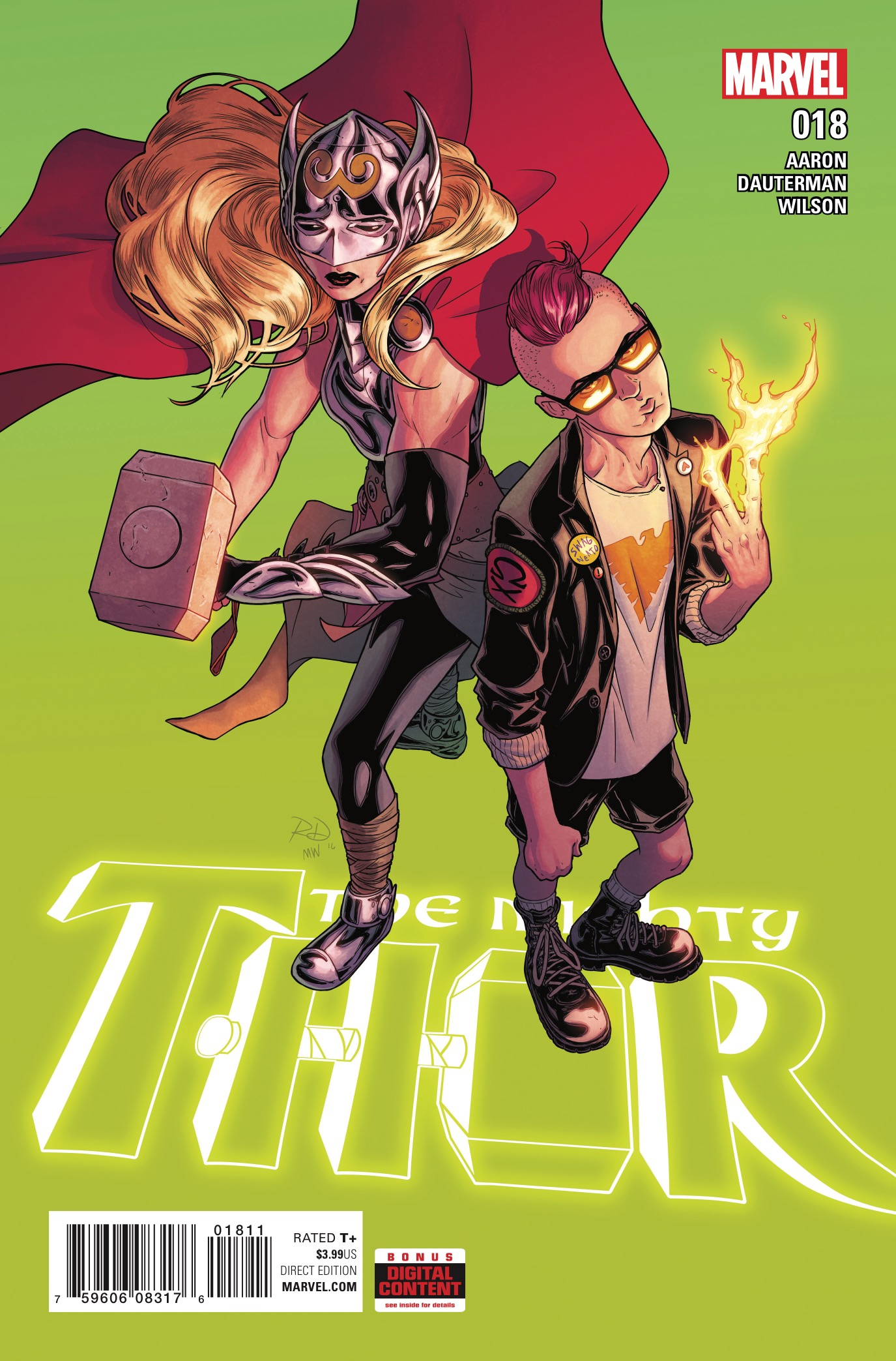Marvel Preview: The Mighty Thor #18