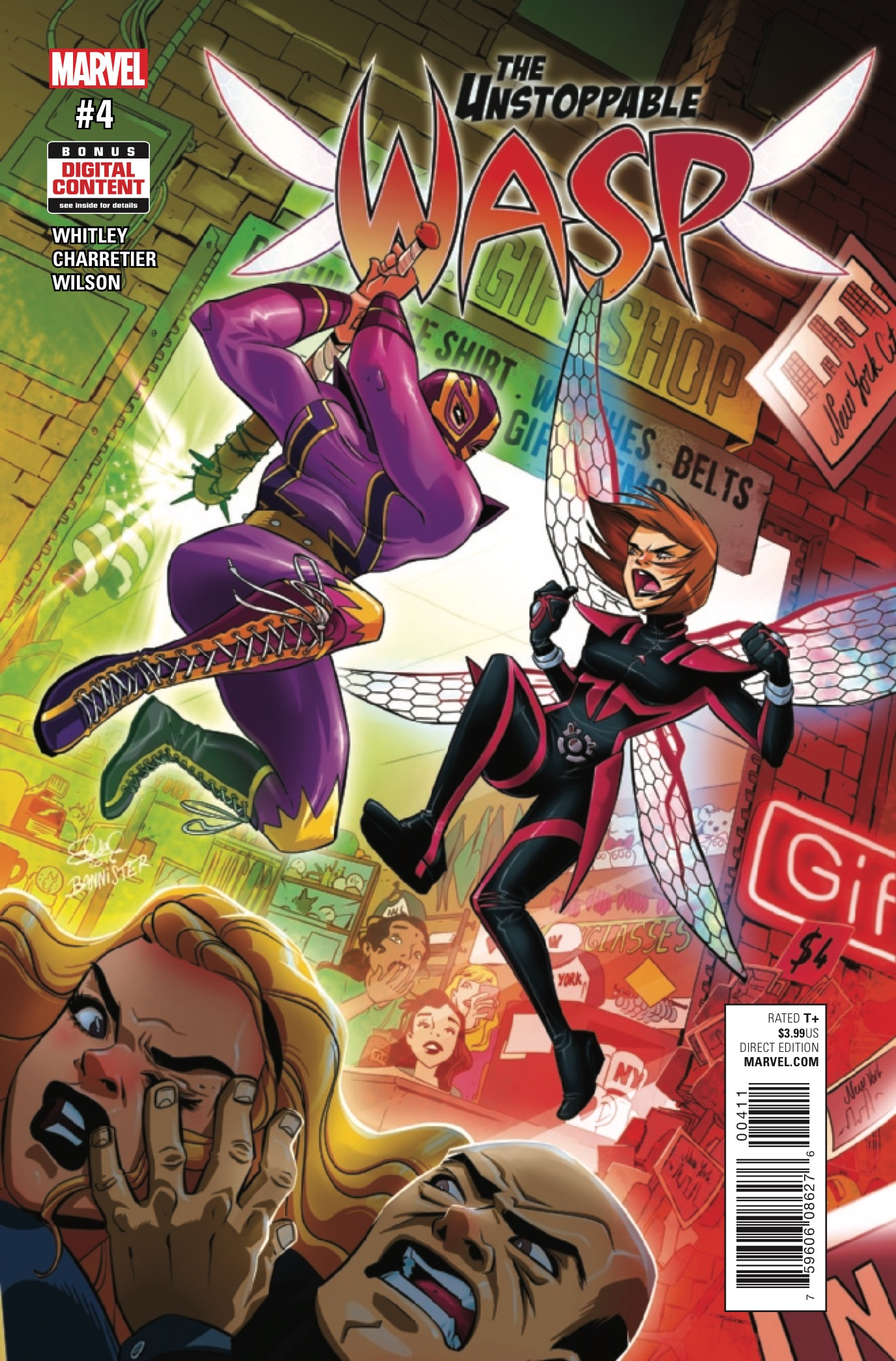 Marvel Preview: The Unstoppable Wasp #4