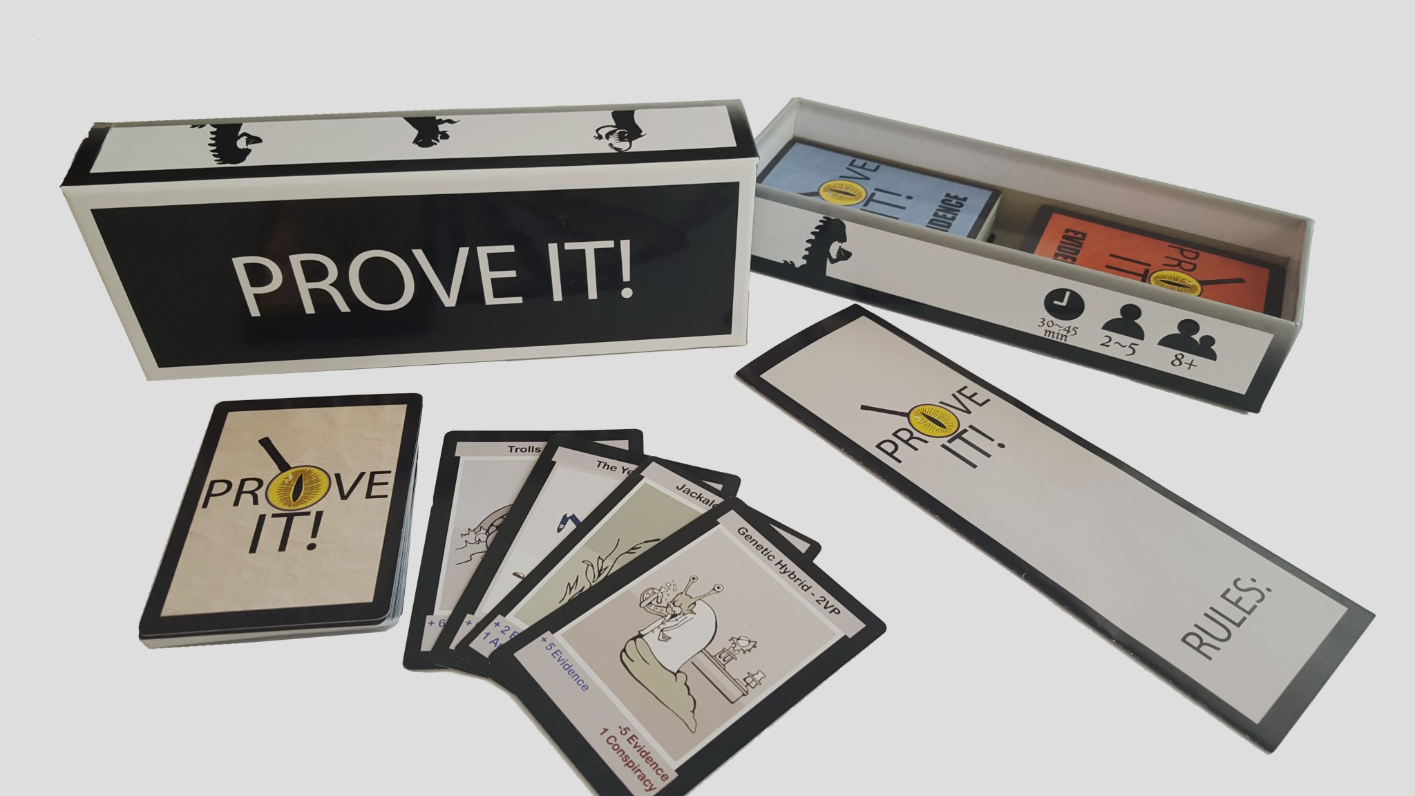 Validate Cryptozoology with Safe Haven Games' 'Prove It!'