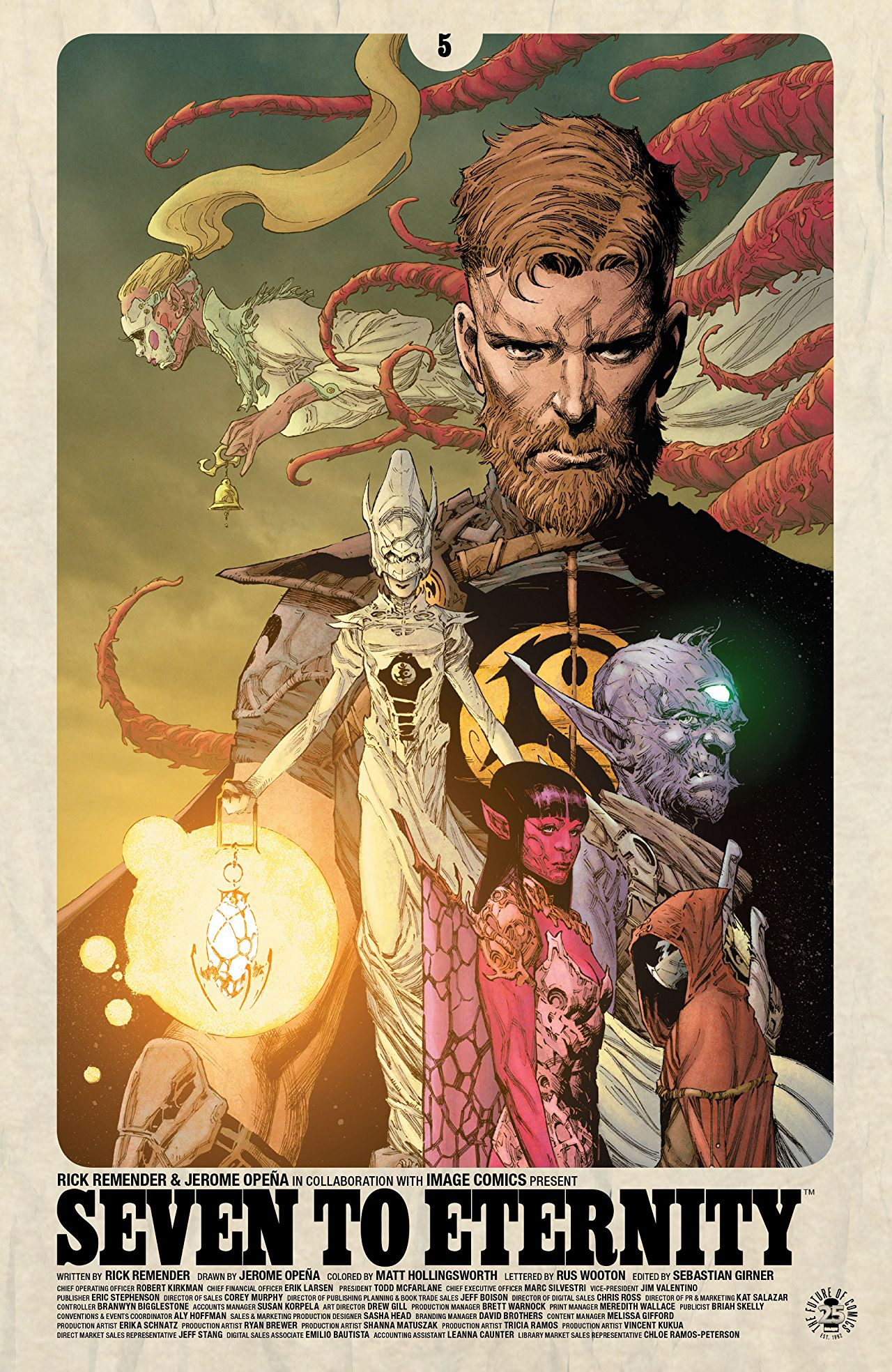 Seven to Eternity #5 Review