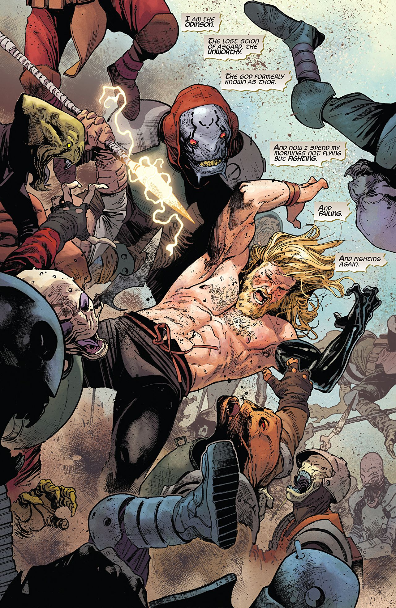 Now this? The Unworthy Thor? This is a character change from Marvel I can get behind 100%.