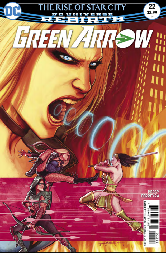 Green Arrow #22 Review