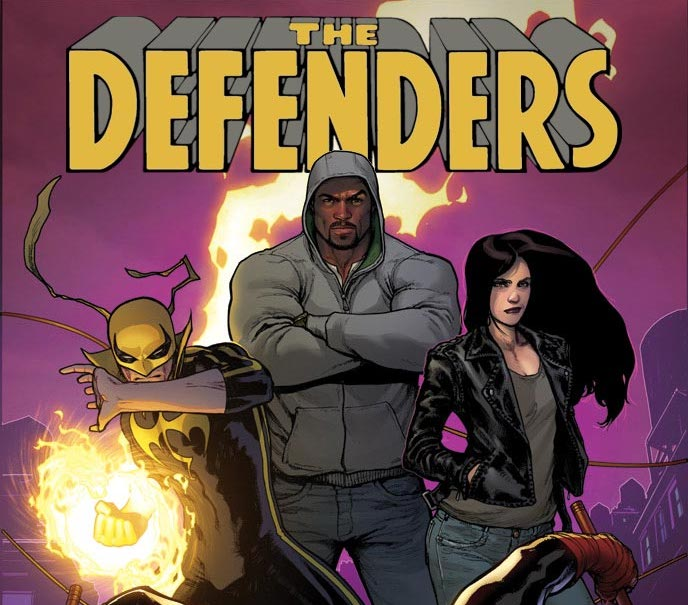 Marvel's Next Big Thing: The Defenders with Brian Michael Bendis, David Marquez, and Tom Brevoort