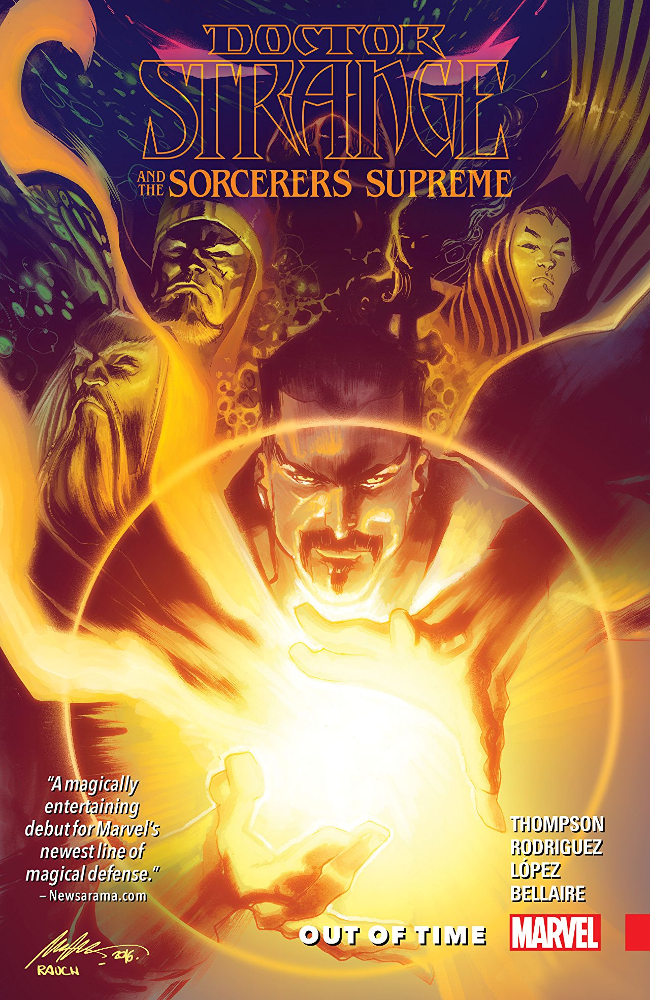 'Doctor Strange and the Sorcerers Supreme Vol.1: Out of Time' is one hell of a magic carpet ride