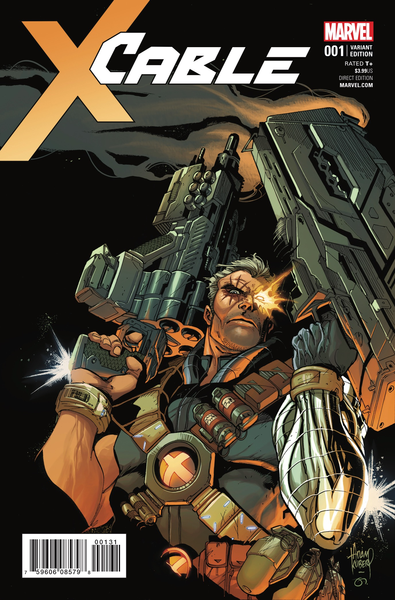 Judging by the preview, Cable is going to be doing some major time travelling and not just to the usual locations; namely we mean not anywhere where X-Men are hanging out. Join series writer James Robinson and artist Carlos Pacheco as they take Cable to...the Old West!?