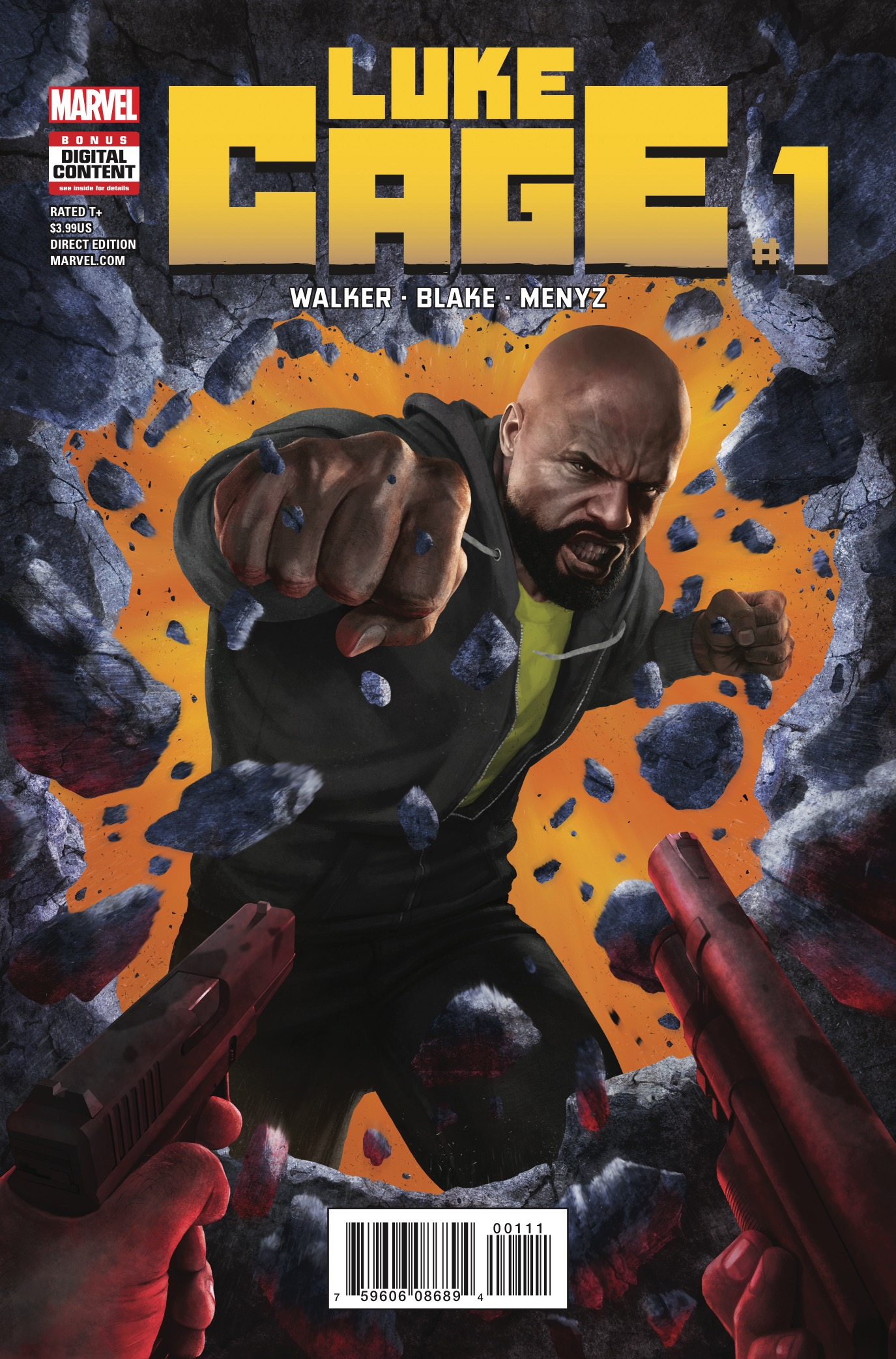 Marvel Preview: Luke Cage #1