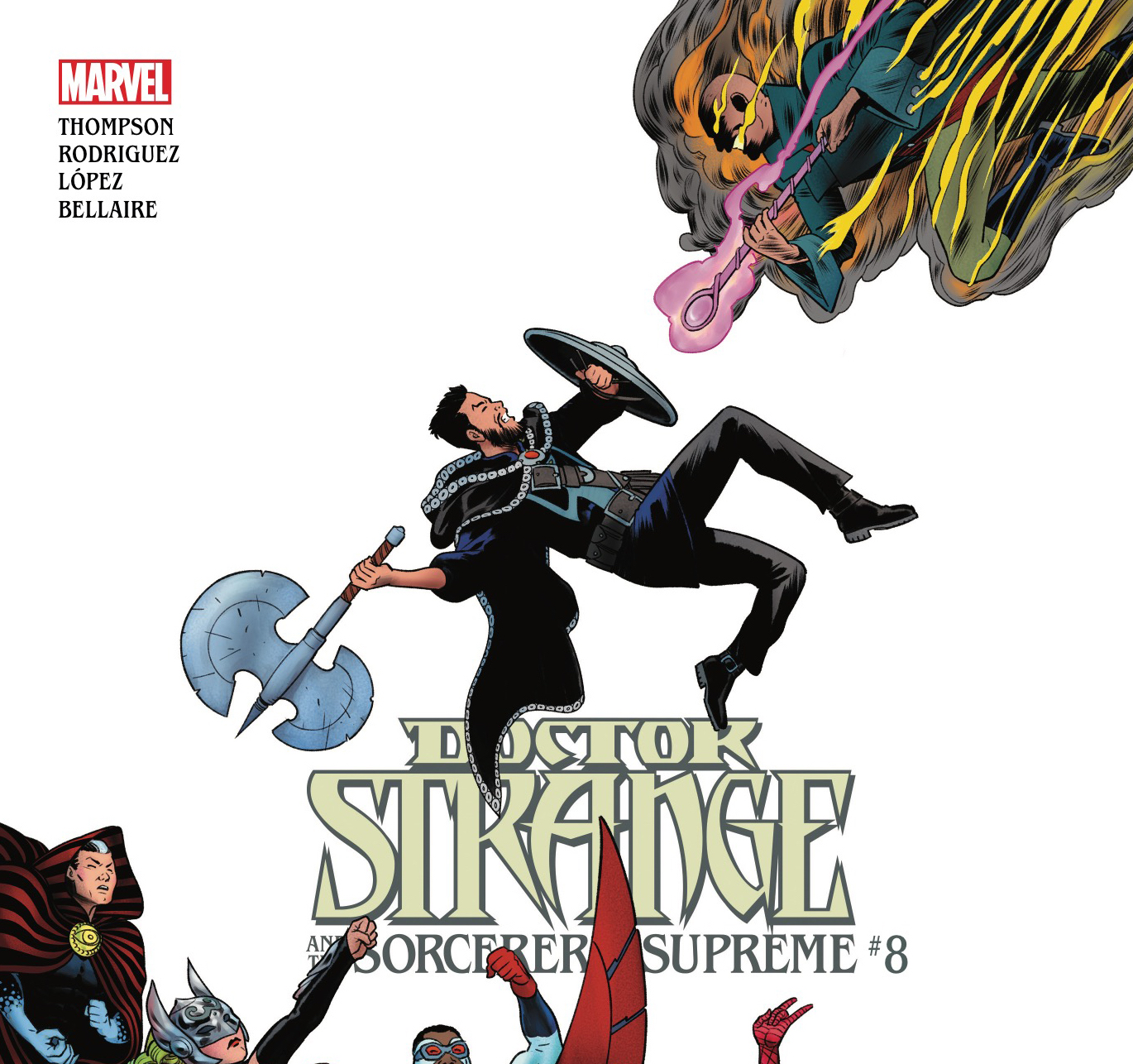[EXCLUSIVE] Marvel Preview: Doctor Strange and the Sorcerers Supreme #8