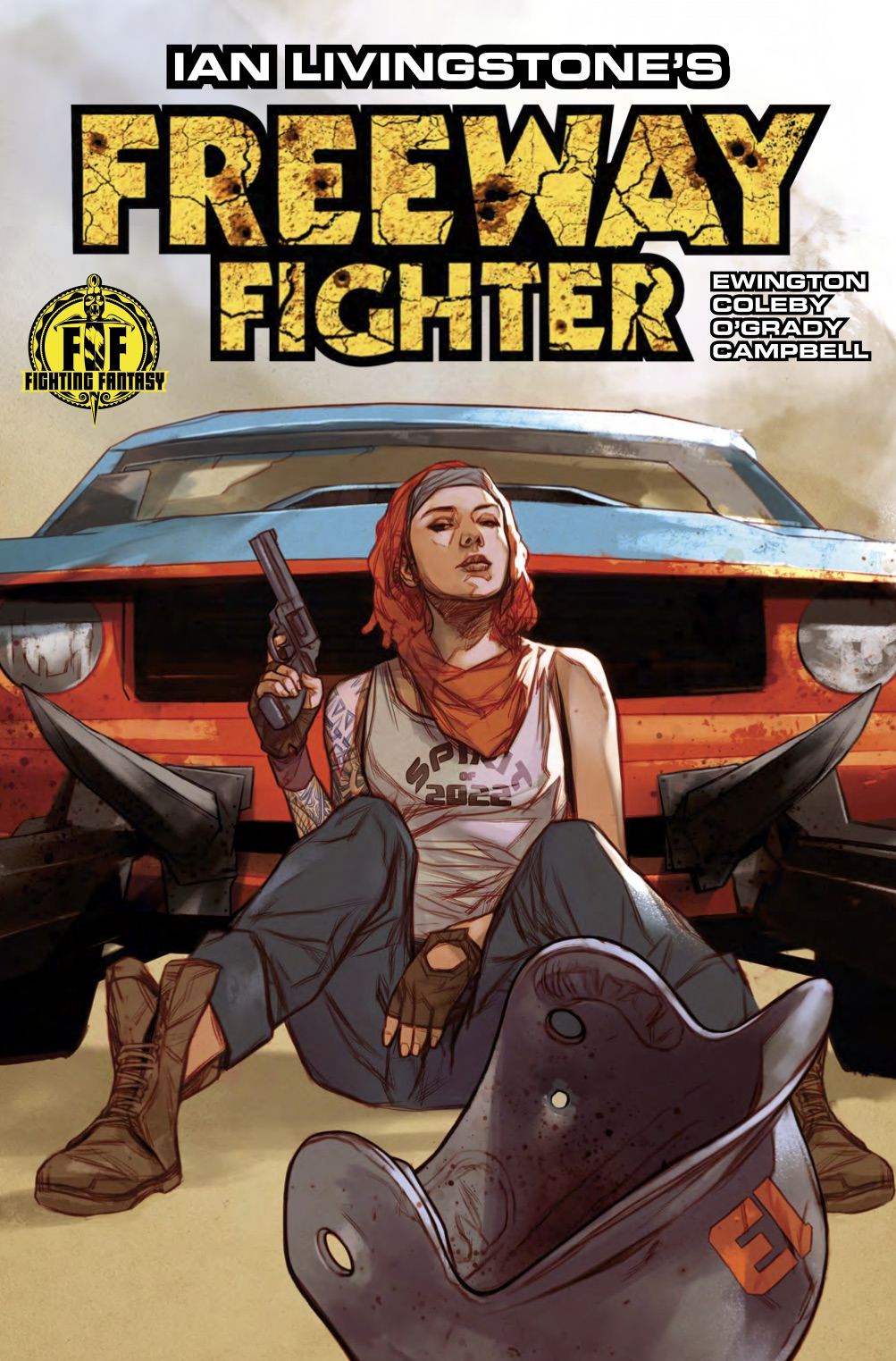Freeway Fighter #1 Review