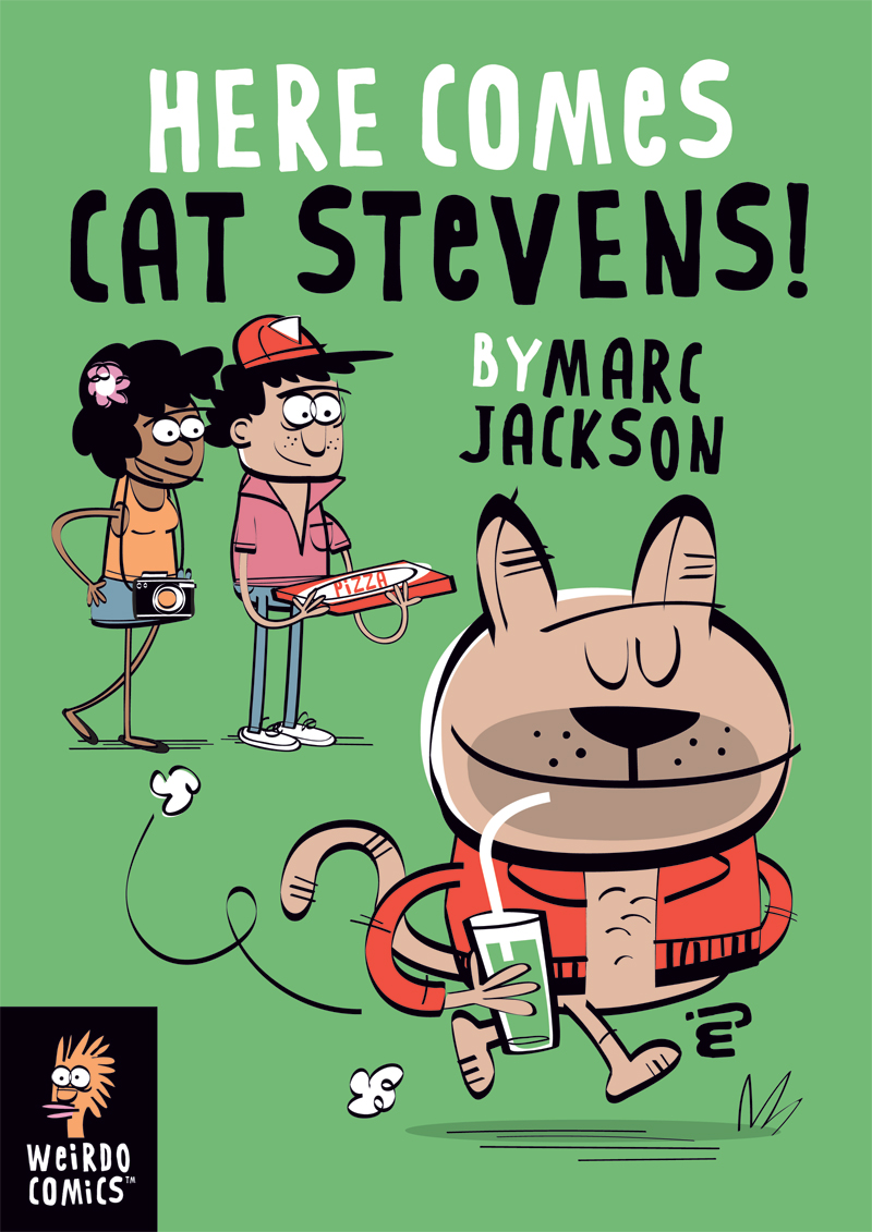 Comic Book Preview: Here Comes Cat Stevens!