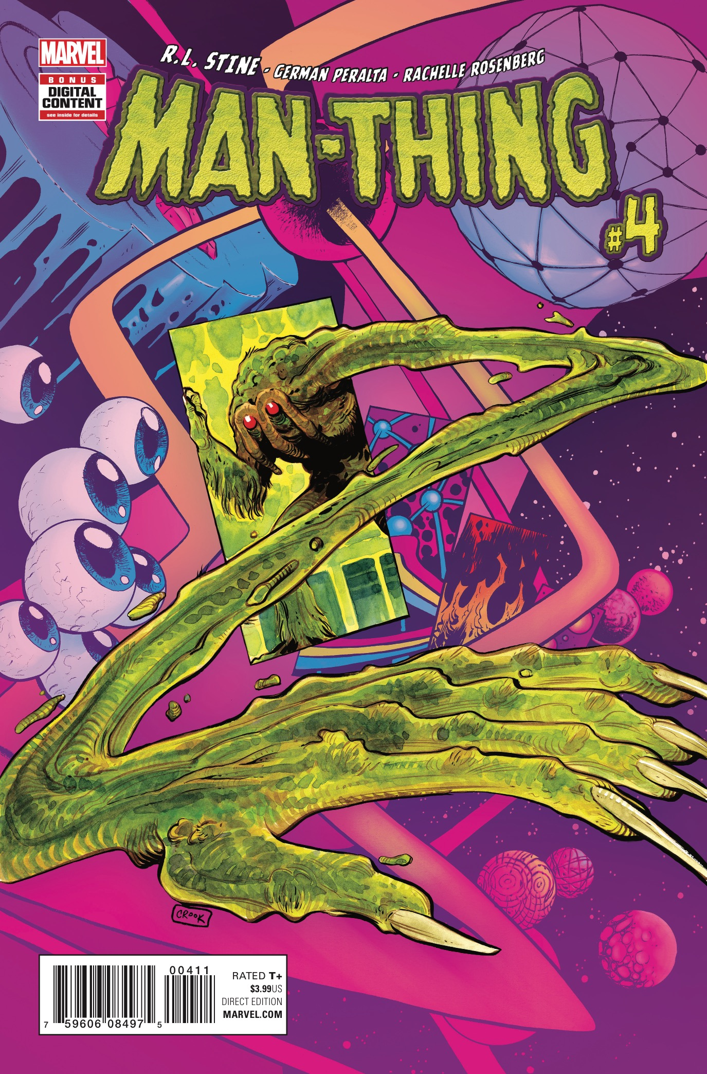 Marvel Preview: Man-Thing #4