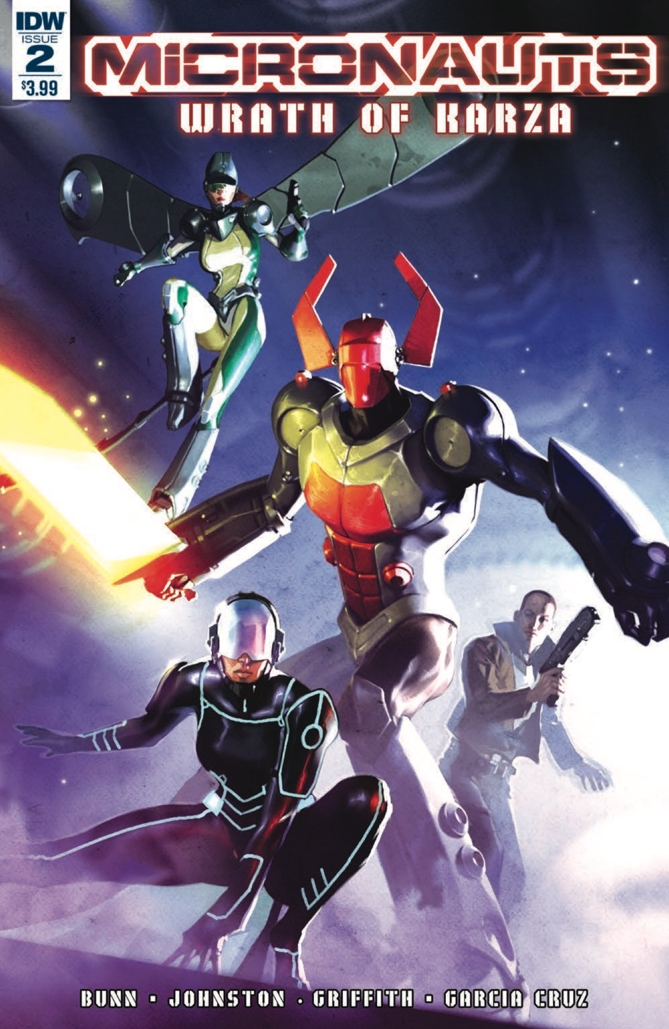 [EXCLUSIVE] IDW Preview: Micronauts: Wrath of Karza #2