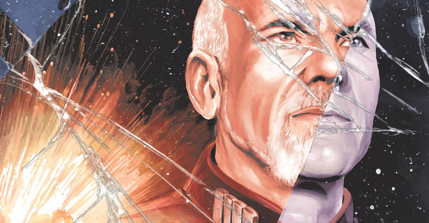 After reading the fun slice of story chapter on Free Comic Book Day, I was hooked. It focuses on an alternate dimension where Picard, Data, and the whole crew are evil bastards who have had their lives rejiggered so that they're more pirates than shining beacon. It's an excellent way to explore the characters while delivering new but familiar stories.