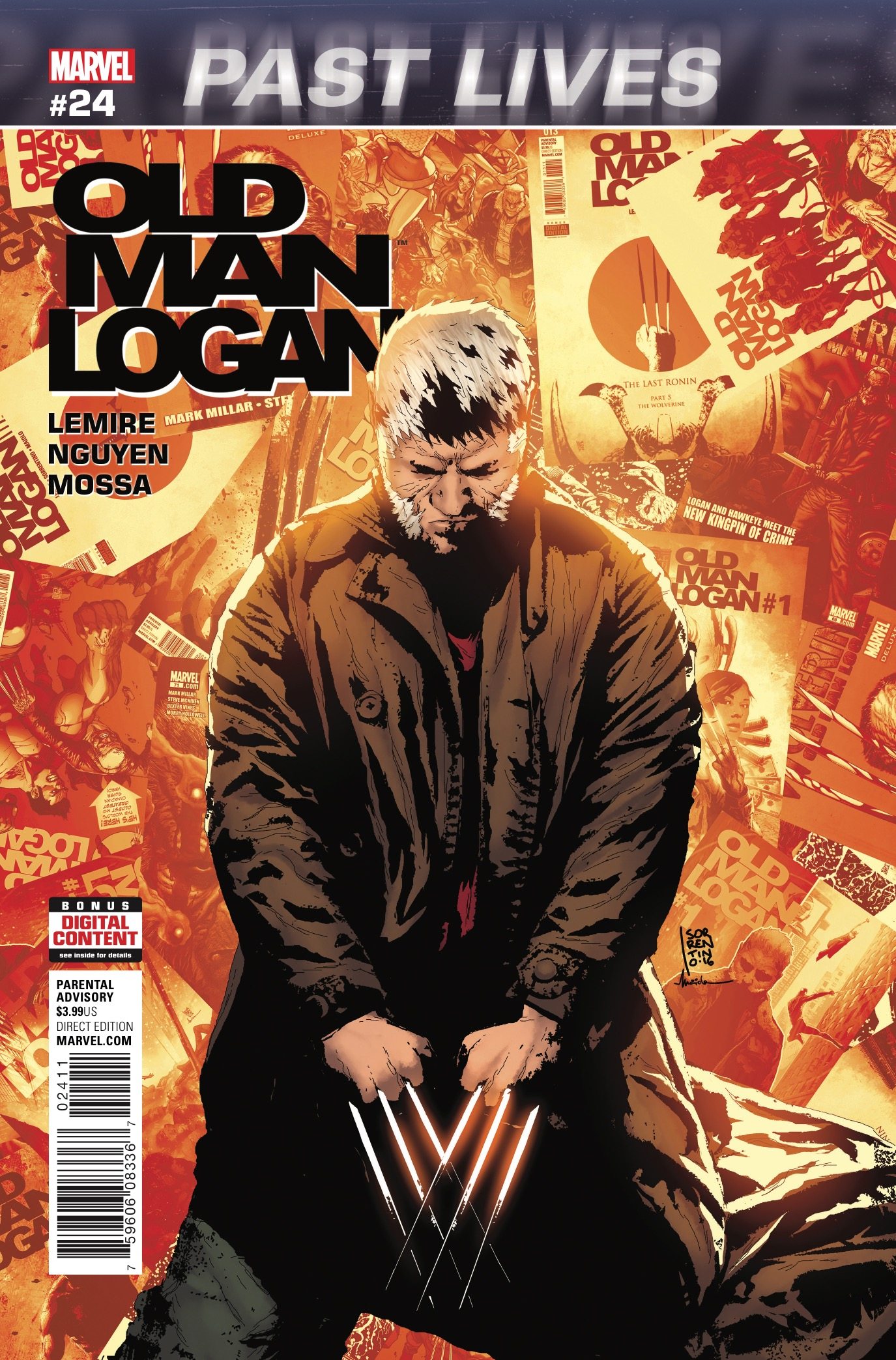 "It's a sad day for fans of Old Man Logan (and the dearly departed Extraordinary X-Men), for this is the day gifted writer Jeff Lemire exits the X-Men universe. And even if you're not as sad as I am, you probably will be by the time you finish the very moving finale to ""Past Lives."""