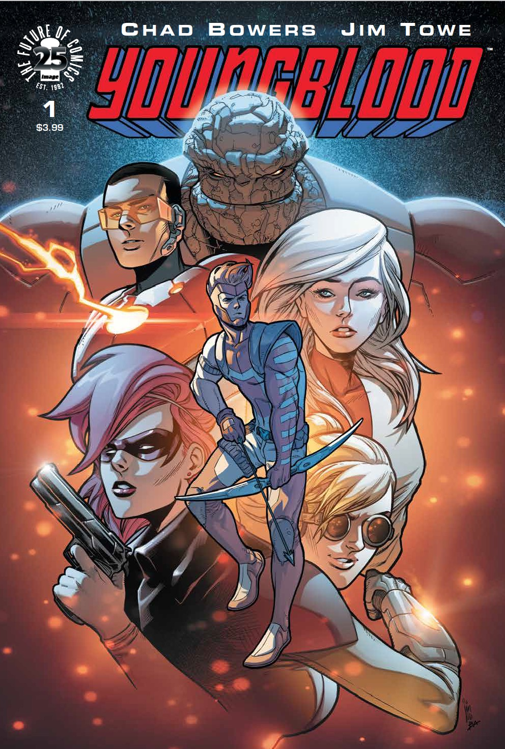 Youngblood #1 Review