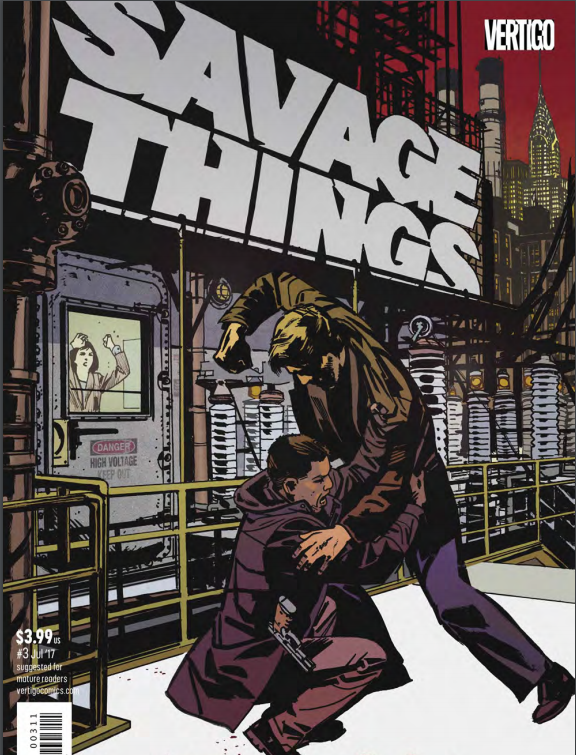 Savage Things #3 Review