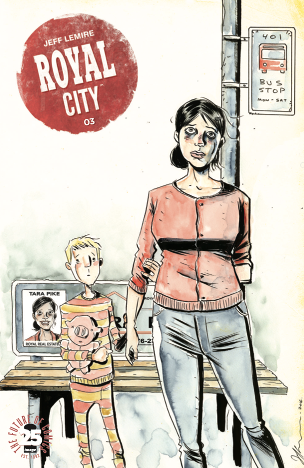 Royal City #3 Review