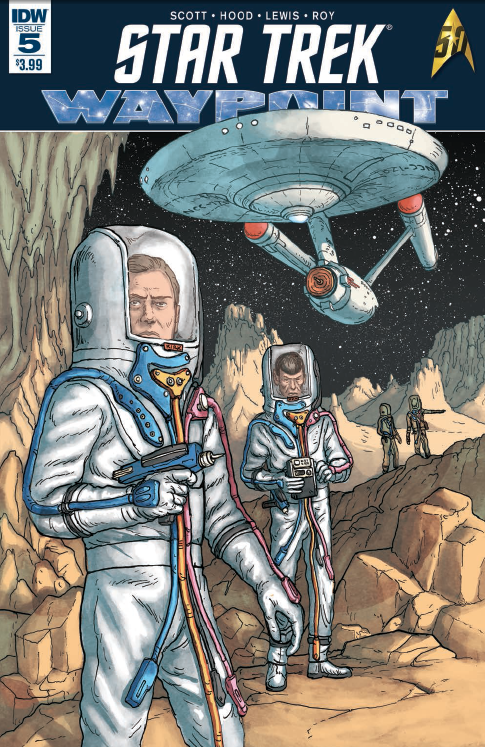 Two short stories per issue based on the Star Trek universe--from different periods of courses--is possibly the best way to explore the varied characters and timelines. It not only allows creative teams to pop in and out, but allows readers to get two complete stories for the price of one comic book!