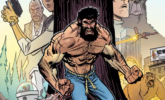 Shirtless Bear-Fighter! #1 Review