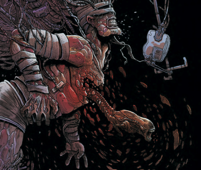 Issue one of James Stokoe's four part series Aliens: Dead Orbit may just be one of my favorite single-issue comics of this year. To say the least, waiting for issue number two has been difficult. My cravings for terrifying space monsters has finally be sated, for the time being anyway. So let's dive in and find out if issue two is any good.