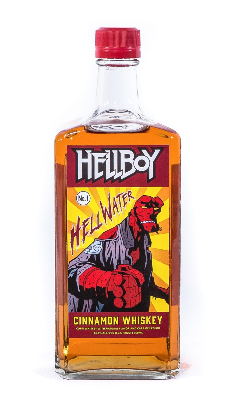 """Small Batch, 66.6 Proof Whiskey, based on Mike Mignola's Legendary """"Hellboy"""" Comic Book Character"""