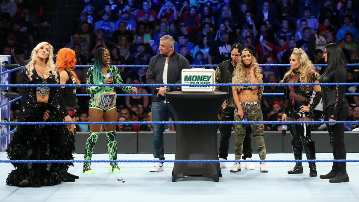 Who will become WWE's first ever Miss Money in the Bank?