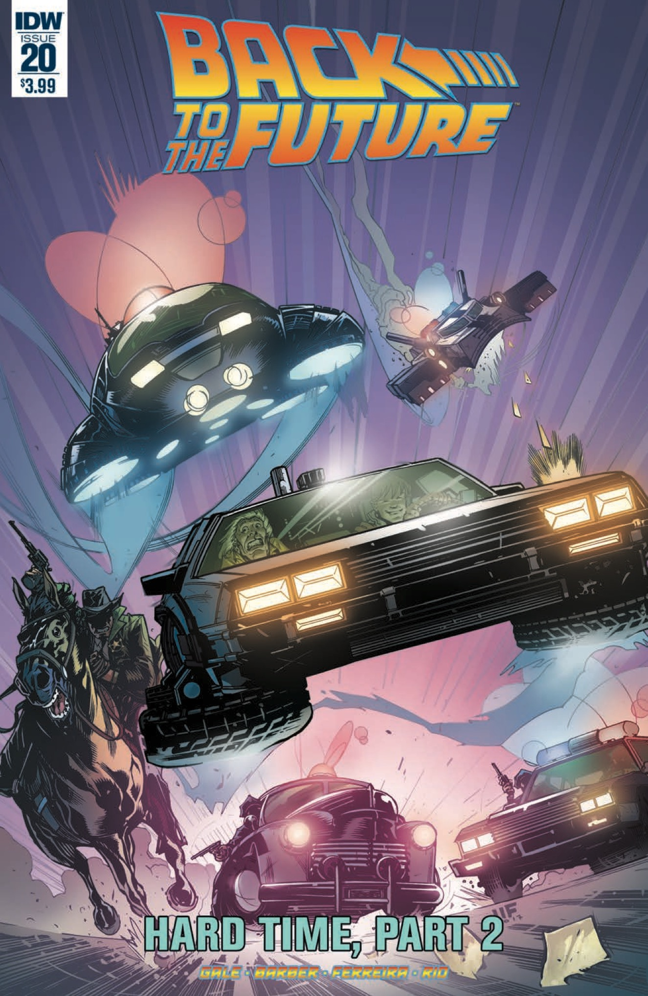 [EXCLUSIVE] IDW Preview: Back to the Future #20