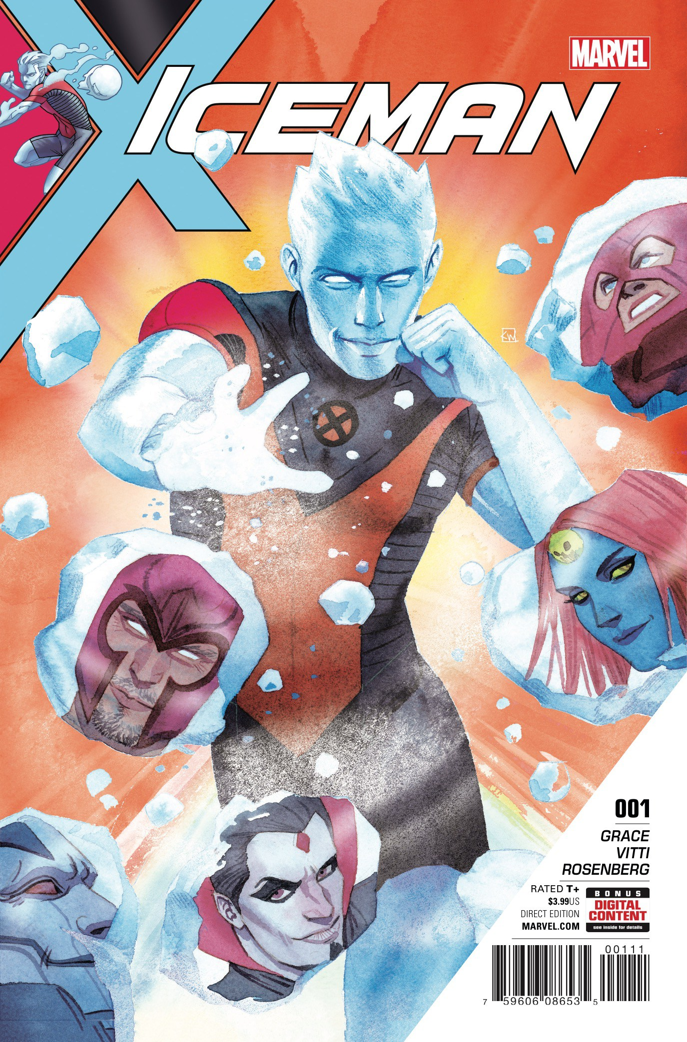 Bobby Drake's first ongoing solo series debuts this week with Iceman #1. Is it good?