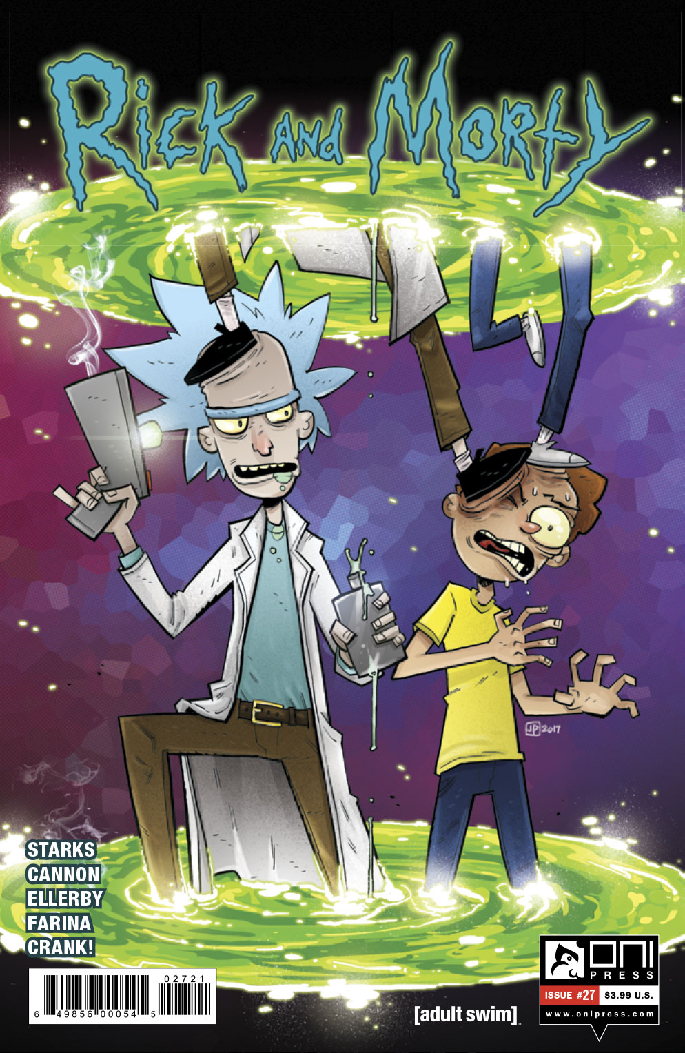 Rick and Morty #27 Review
