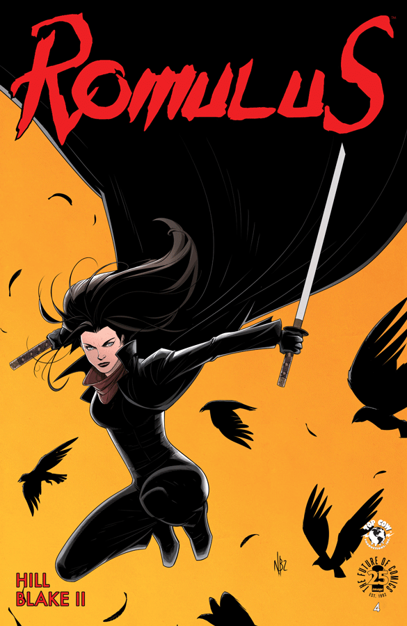 Romulus #4 Review