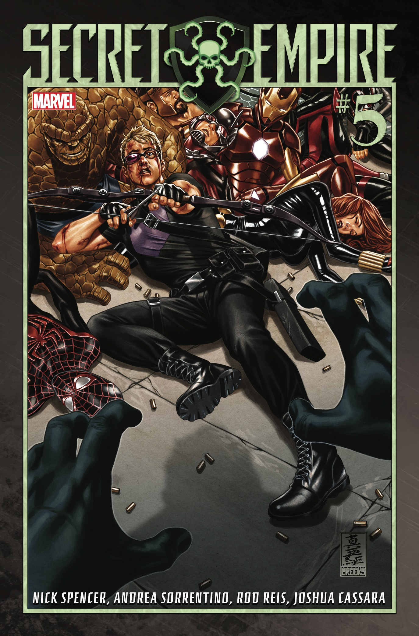 After last issue, I'm all in with this summer event series. It's managed to play around with Marvel tropes, write in some interesting character twists, and been good for a bit of political commentary. With the MacGuffin of the Cosmic Cube shards continuing to push the plot forward, let's review issue #5.