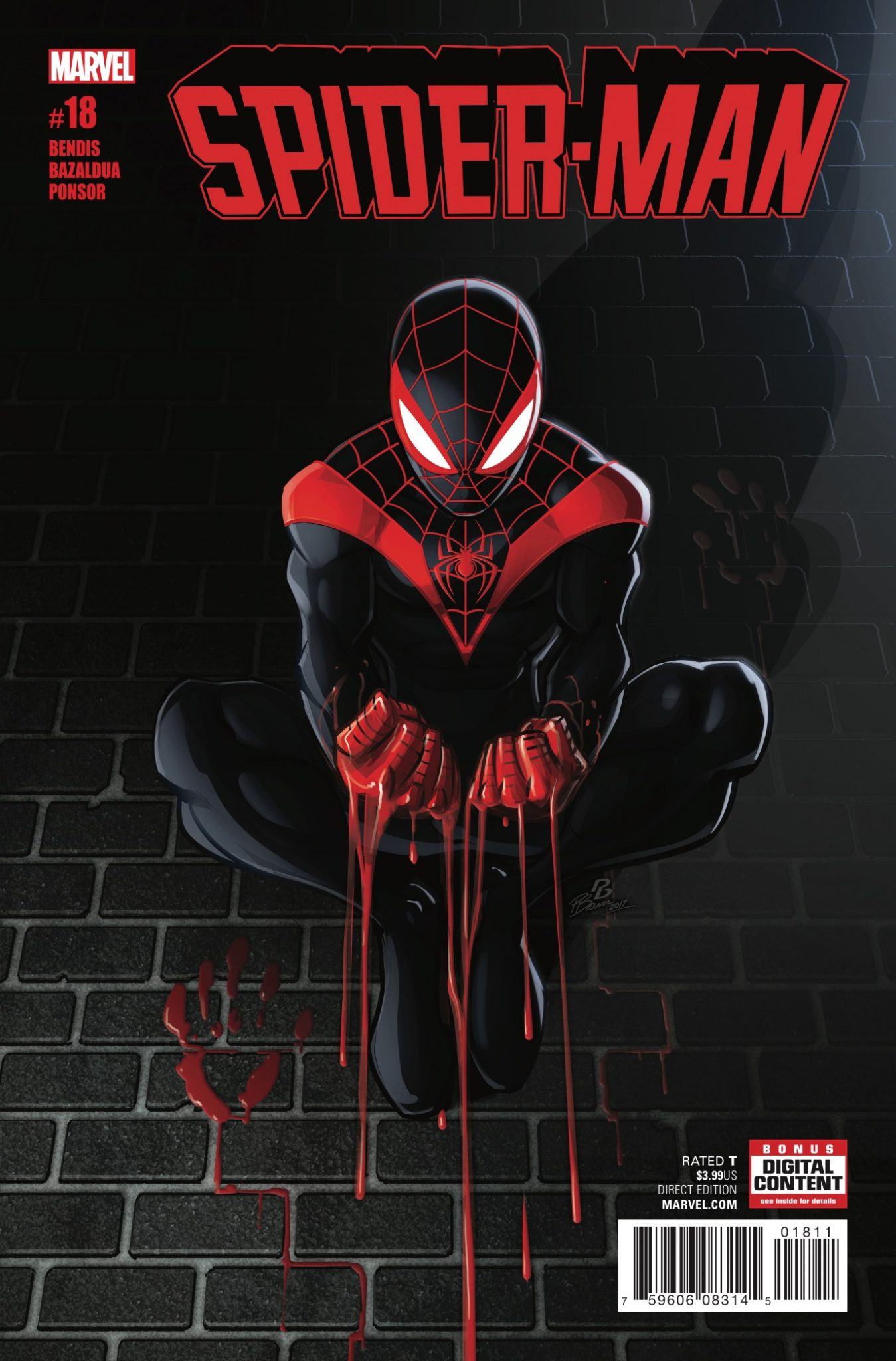 Spider-Man finds out that Hammerhead isn't so funny after all. The NYC crime-land gang war is heating up, and Miles is getting a little too involved. This won't end well.