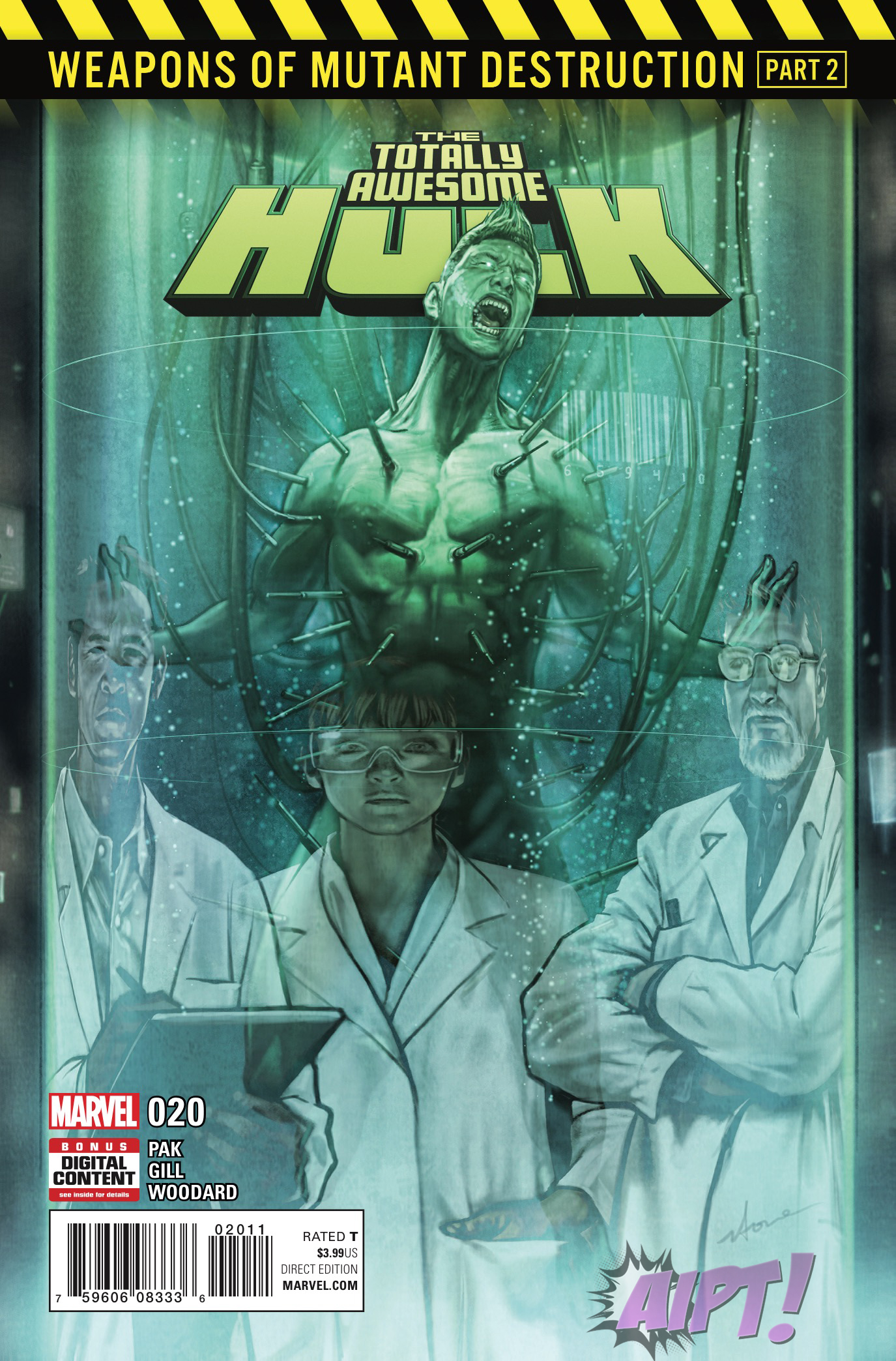 [EXCLUSIVE] Marvel Preview: The Totally Awesome Hulk #20