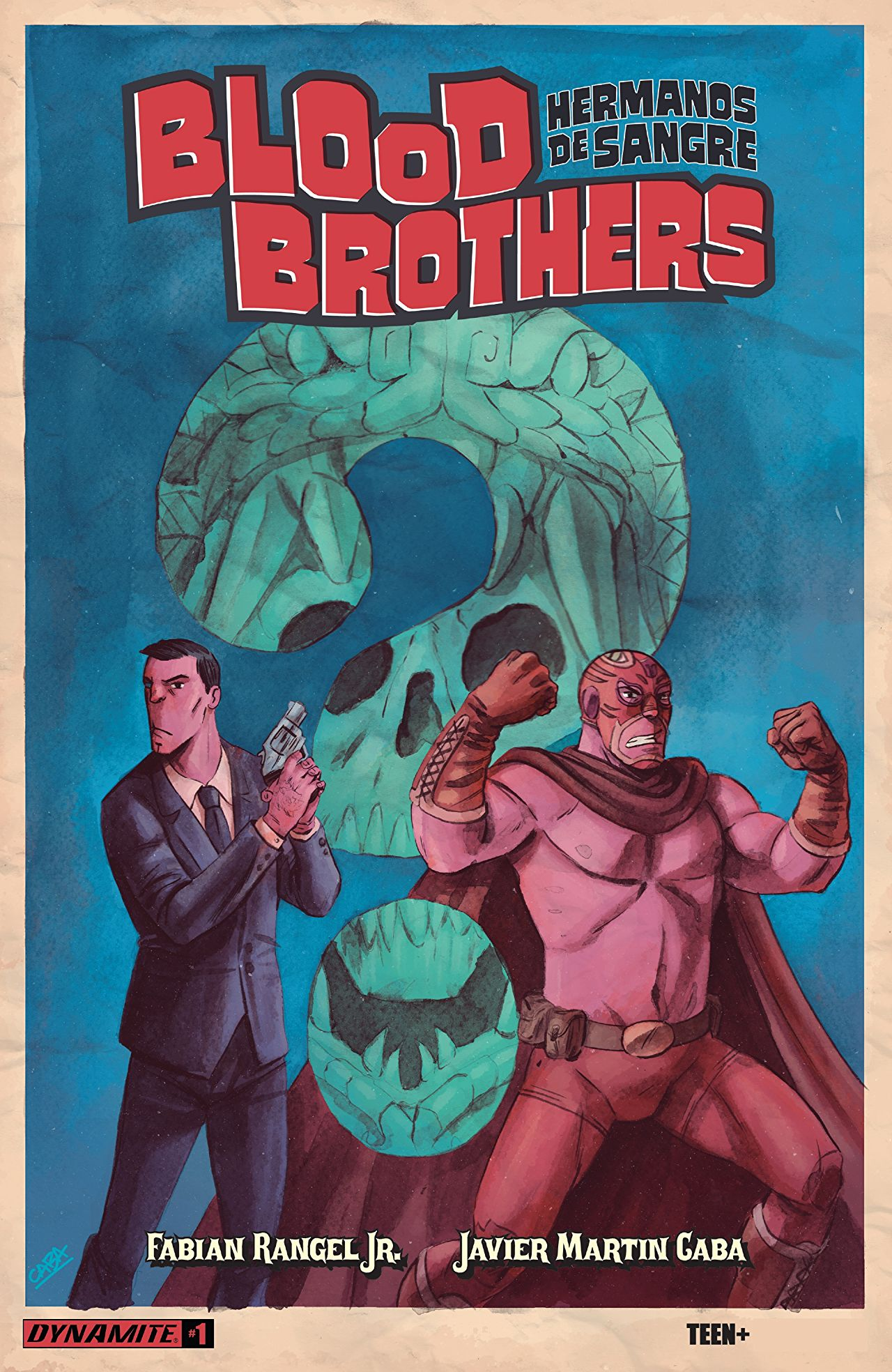 Two brothers, one a straitlaced looking cop and the other a luchador-looking superhero make up the eponymous Blood Brothers. A supernatural investigation is in store, but is it good? Based on the preview it looks damn good!