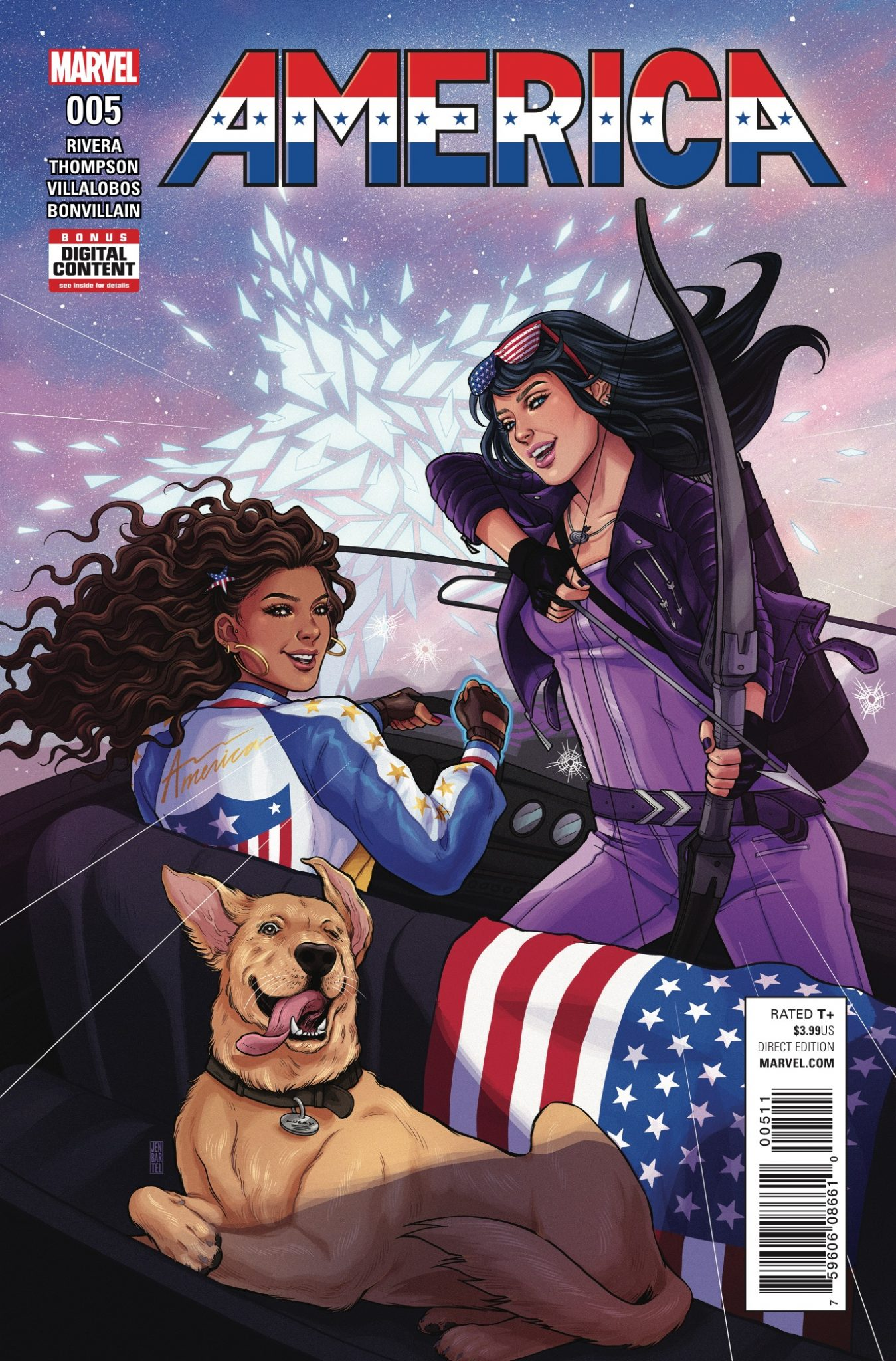 Marvel Preview: America #5