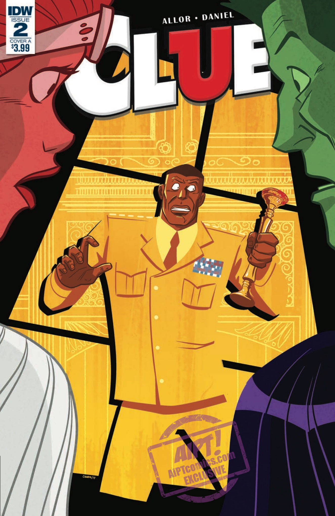 [EXCLUSIVE] IDW Preview: Clue #2