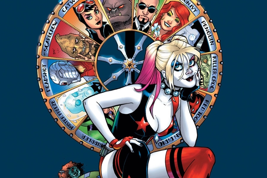 Jimmy Palmiotti and Amanda Conner talk Harley Quinn, future stories, and how metal this character really is!