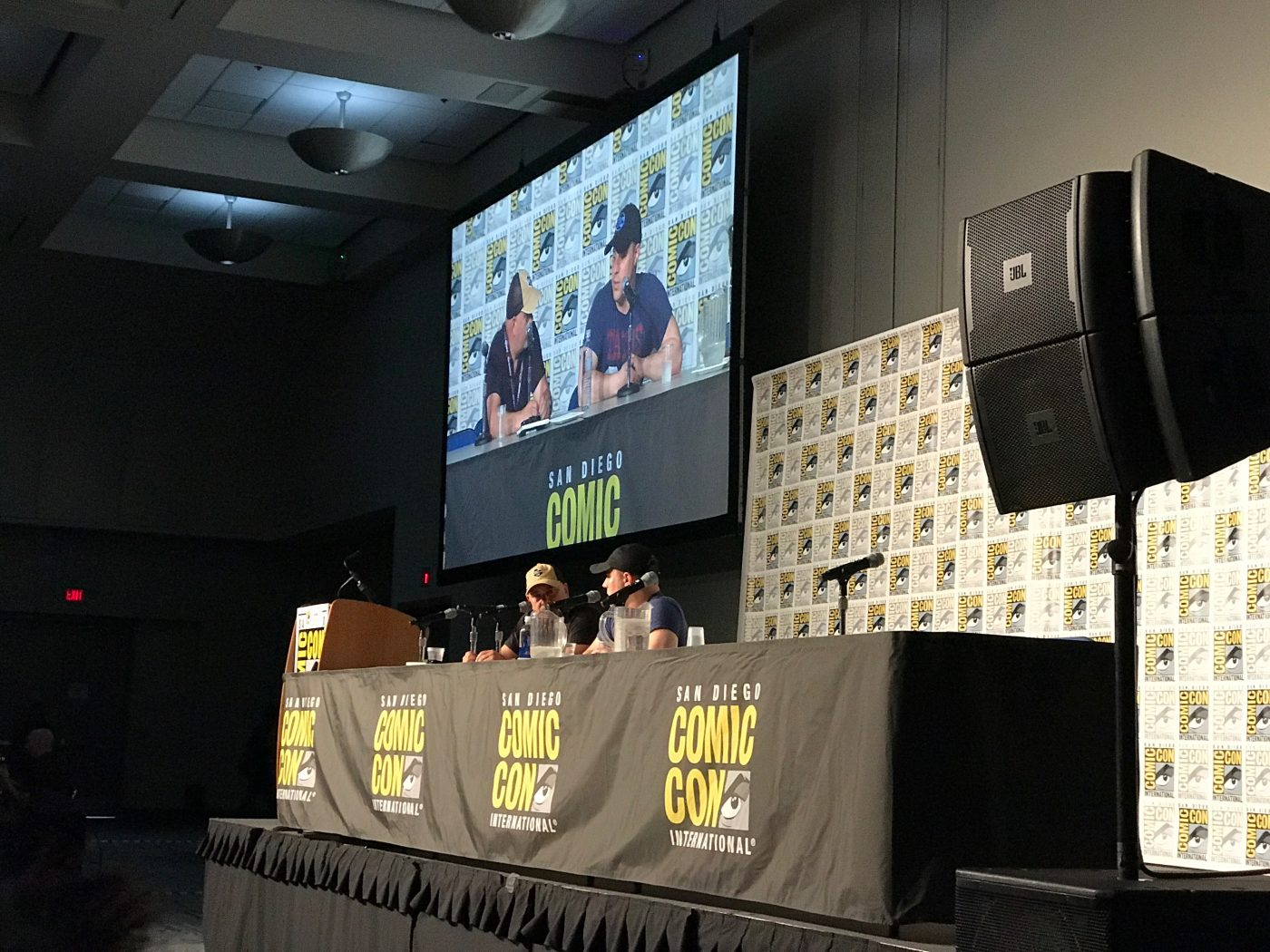 An intimate look at Geoff Johns at SDCC 2017