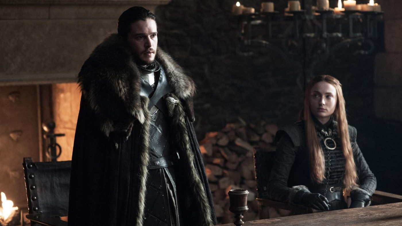 Can Jon and Sansa reconcile their differences on 'Game of Thrones'?