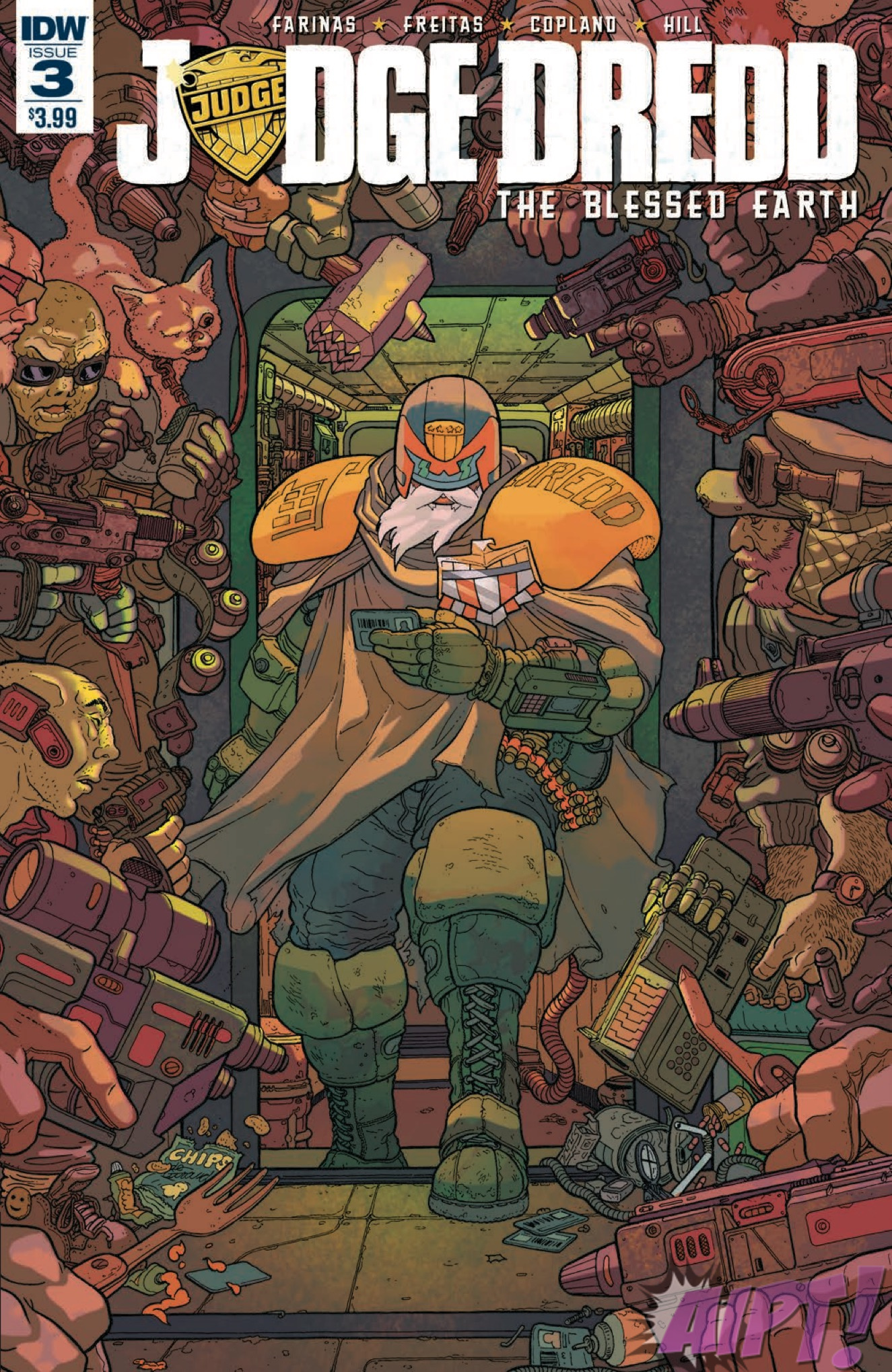 [EXCLUSIVE] IDW Preview: Judge Dredd: Blessed Earth #3