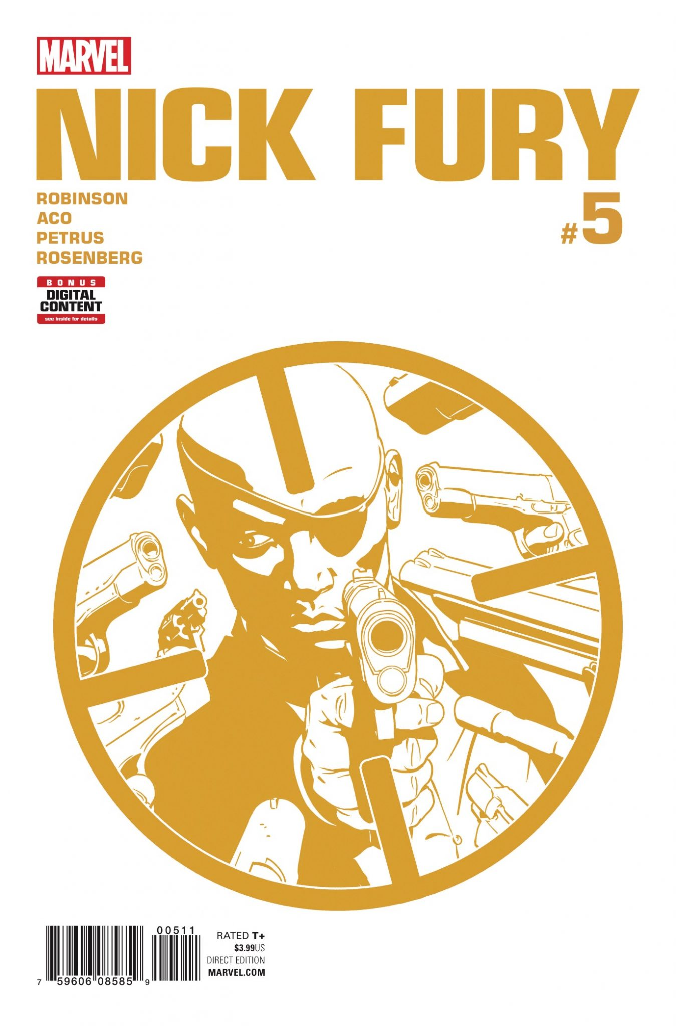 Marvel Preview: Nick Fury #5