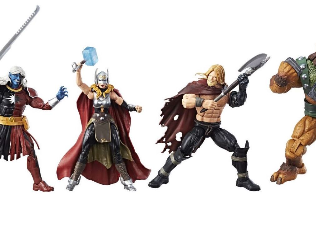 Unboxing/Review: SDCC 2017 exclusive Thor Marvel Legends set