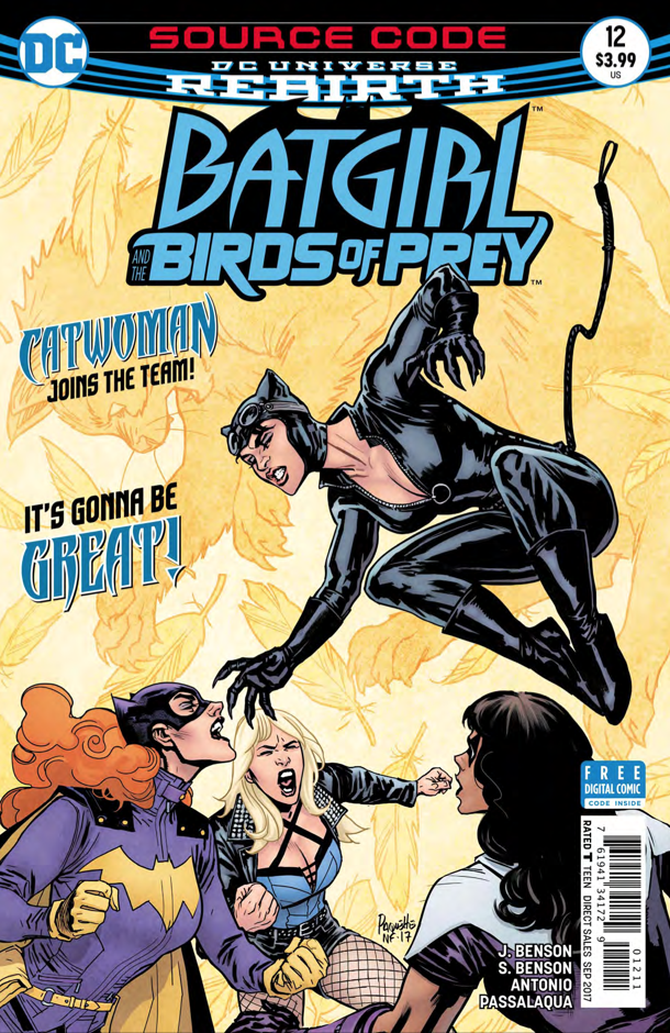 Batgirl and the Birds of Prey #12 review