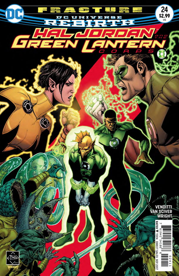 'Hal Jordan and the Green Lantern Corps,' aka epic awesome action and emotion.
